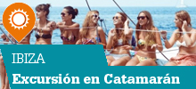 Excursion con Catamaran Ibiza con barco y fiesta