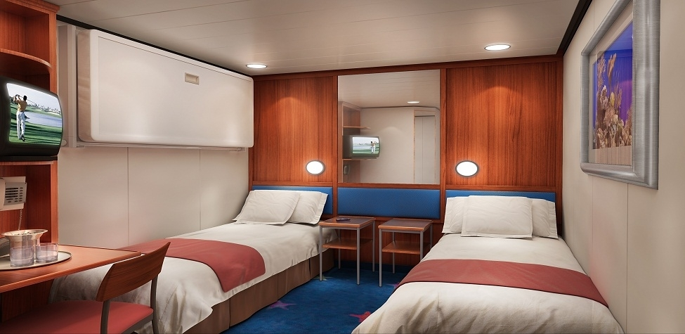 Ofertas barco hotel cerde a coche gratis desde barcelona for Camarote interior grimaldi