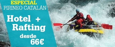 Hotel + Rafting Pirineos Catalanes