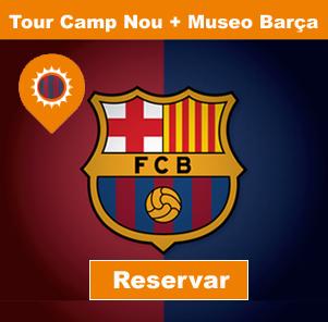 Visita al camp nou y museo del bar a tour por el camp for Hotel vicino al camp nou