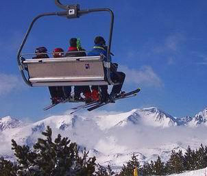 Ski in French Pyrenees