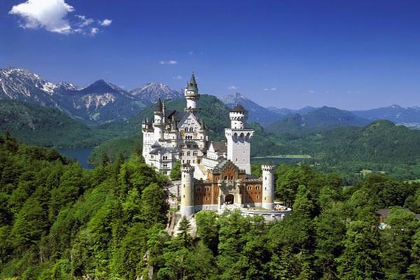 pictures of neuschwanstein castle