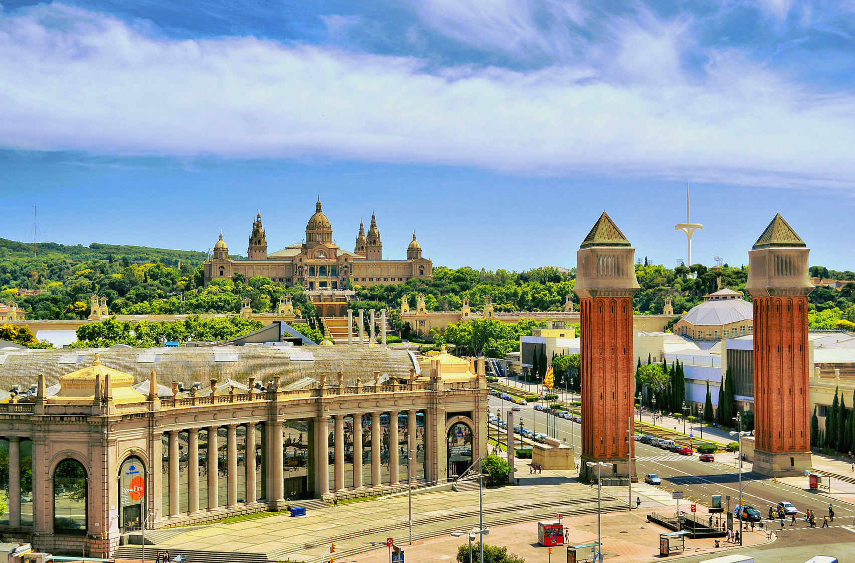 Gay tours barcelona panoramic montju c barcelona for Hotels tours